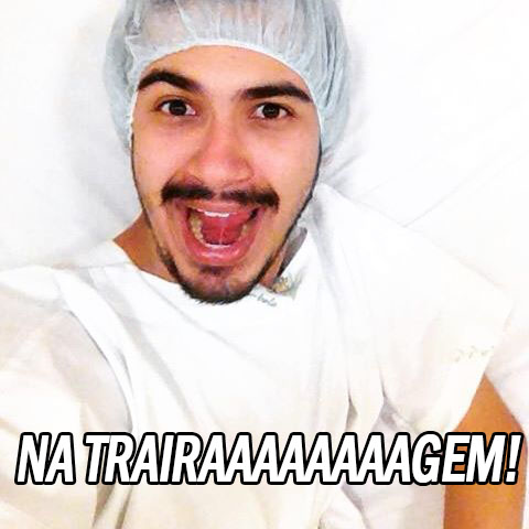 image of Na trairaaaaagem!