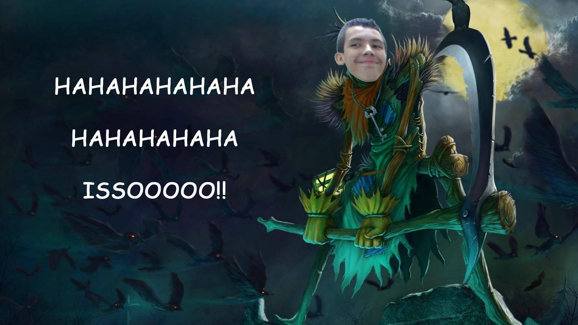 image of Fiddlesticks haha isso