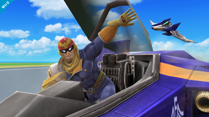 image of Blue Falcon!