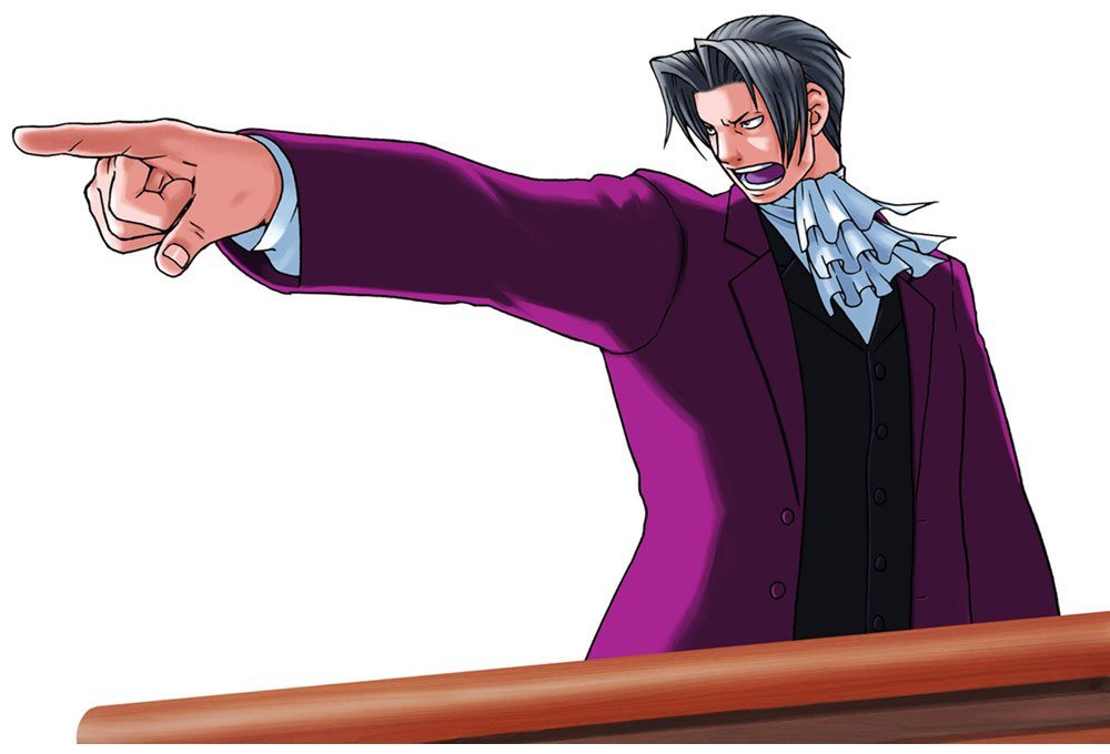 image of Miles Edgeworth - Objection!