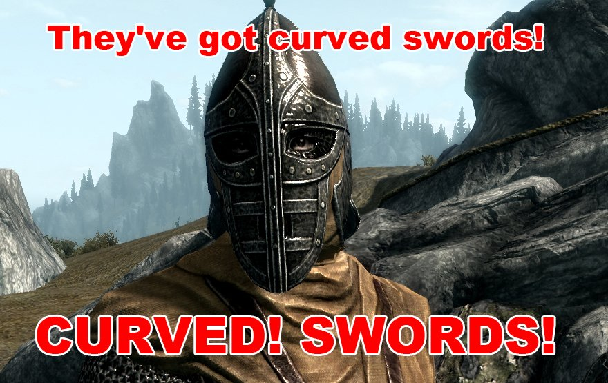 image of Skyrim Curved Swords