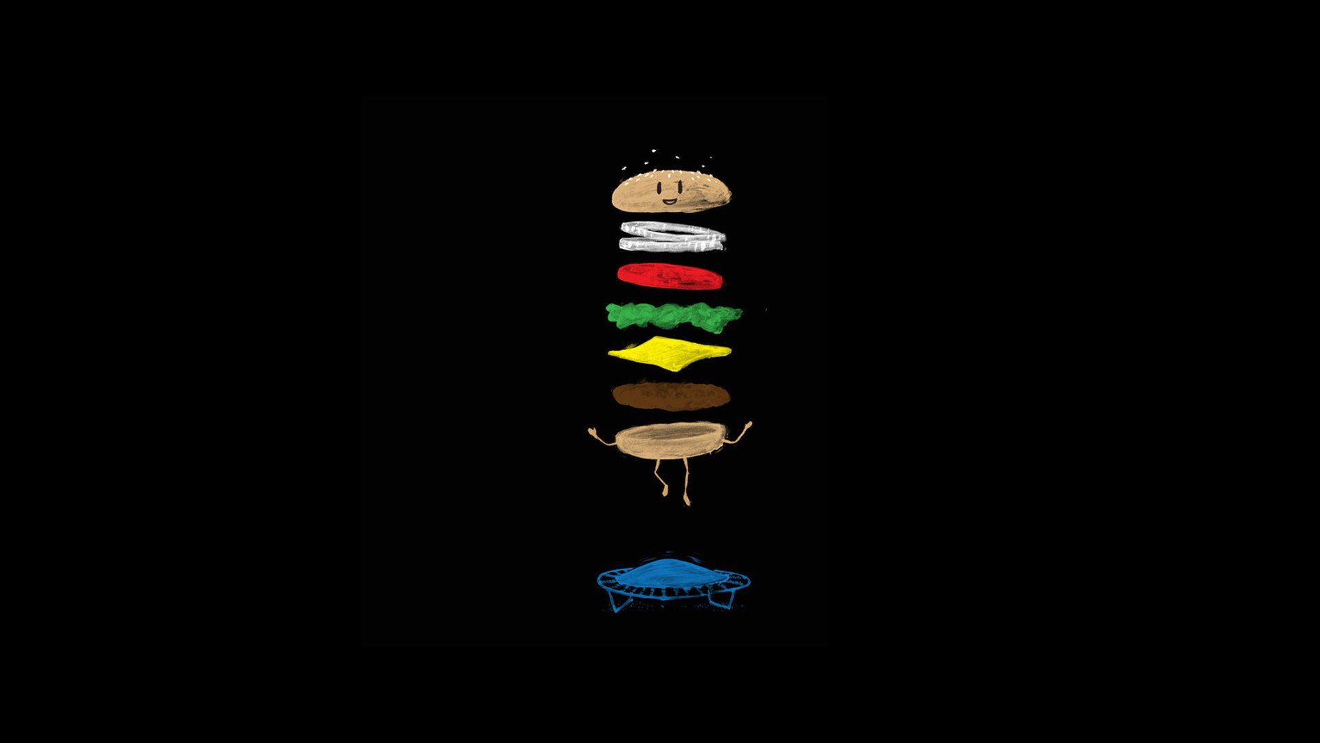 image of eat a burger