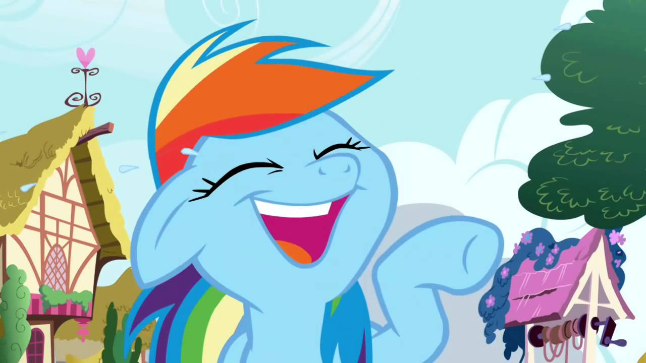 image of bwahahaha (rainbow dash)