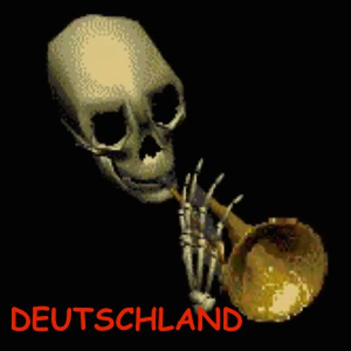 image of skull trumpet gets spooked