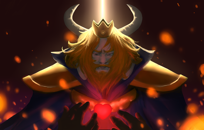 image of Asgore's Voice