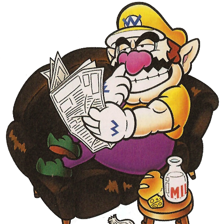 image of Wario EXCELLENT