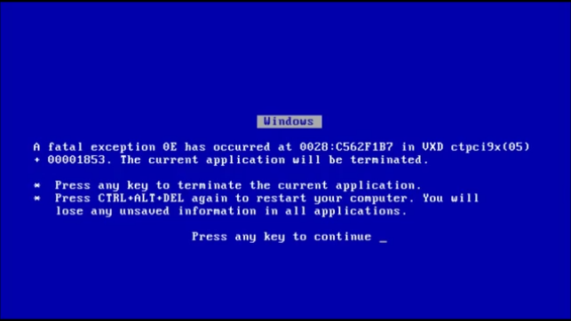 image of Blue Screen