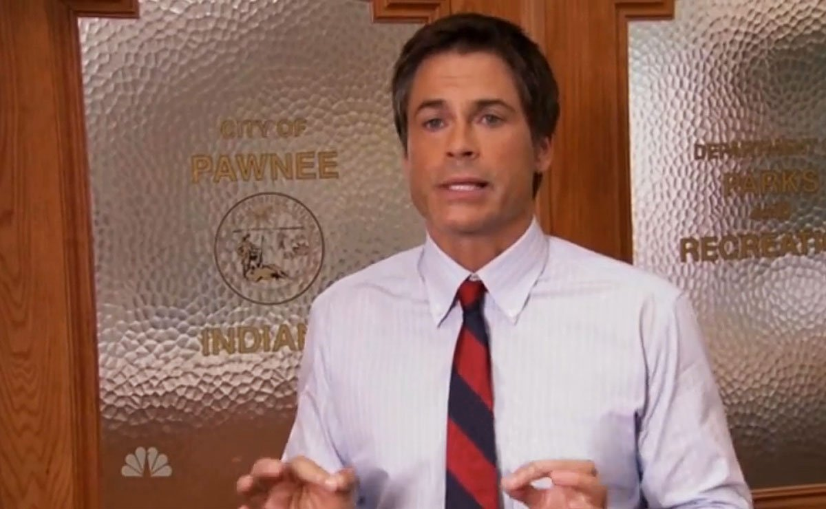 image of Literally - Chris Traeger