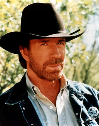 image of Chuck Norris Yell