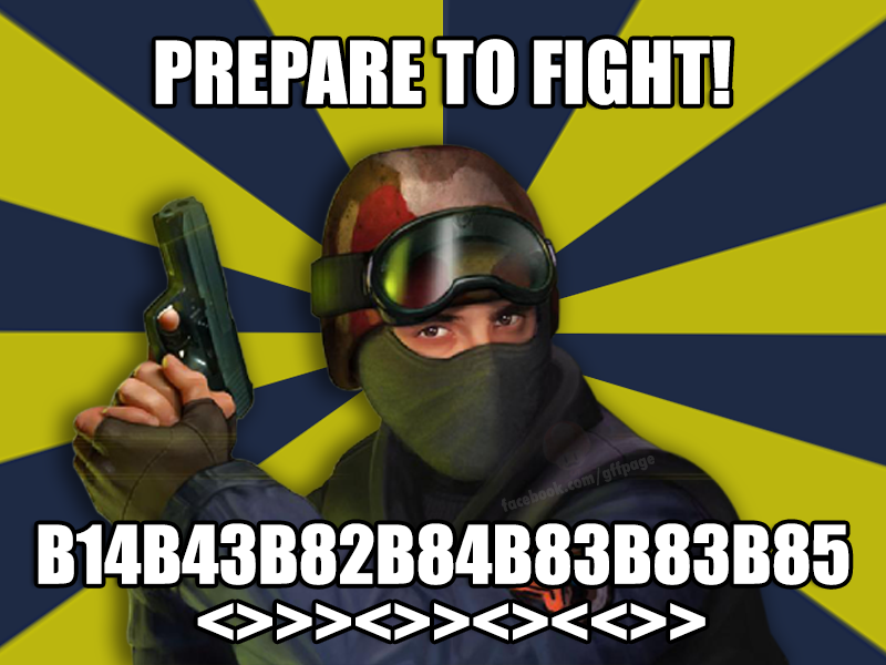 image of CS - Prepare to Fight