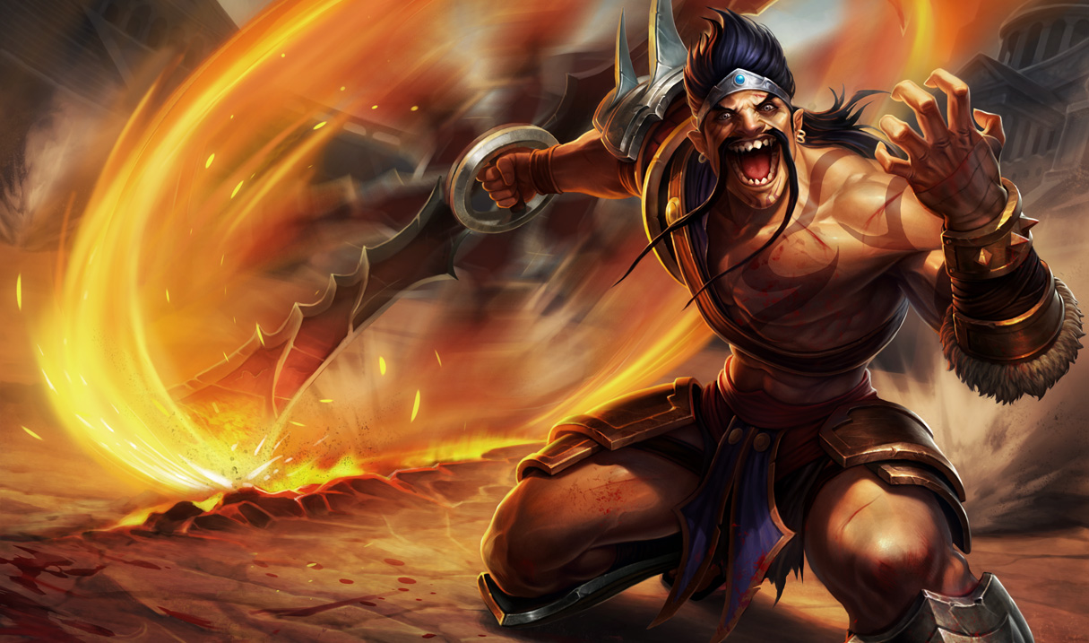 image of Bem Vindos a League Of Draven!