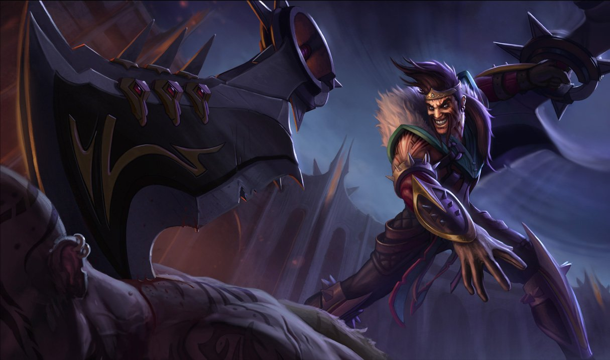 image of Welcome to theLeague of Draven