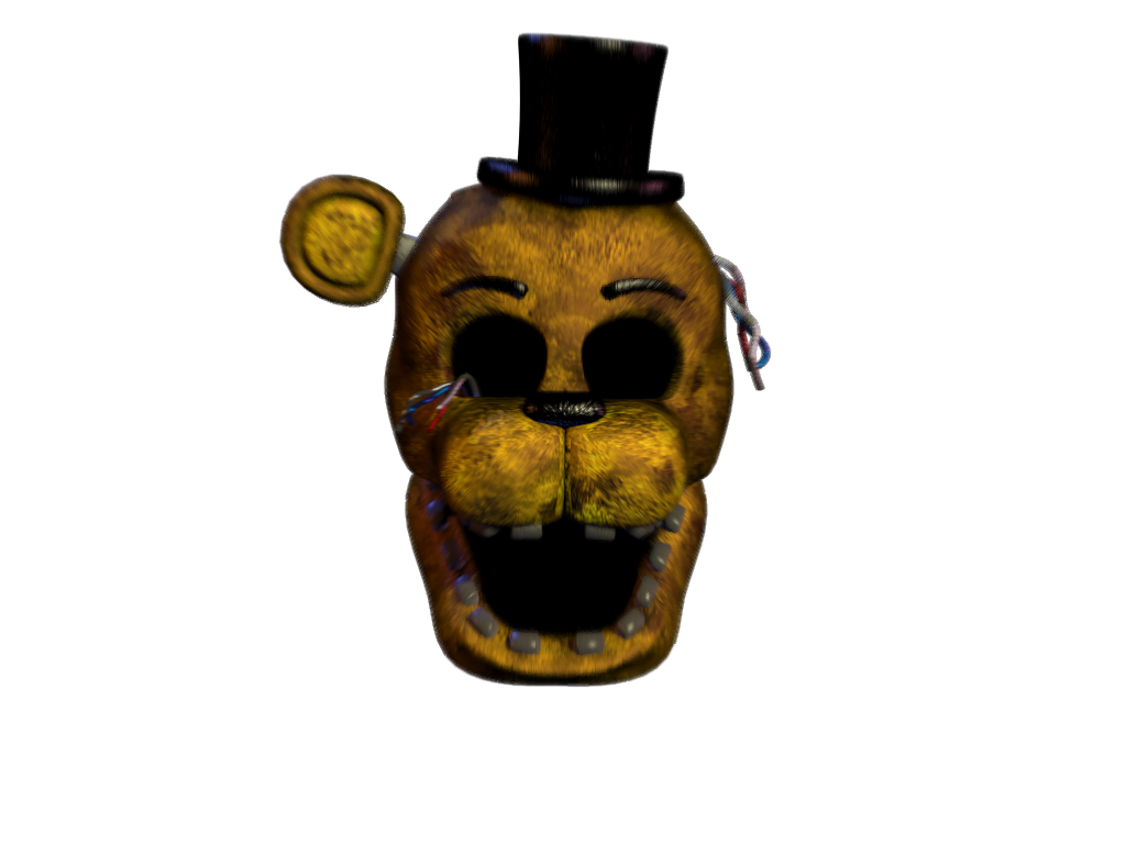 Image Of FNaF Golden Freddy Scream