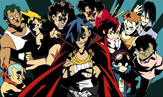 image of Gurren Lagann transition