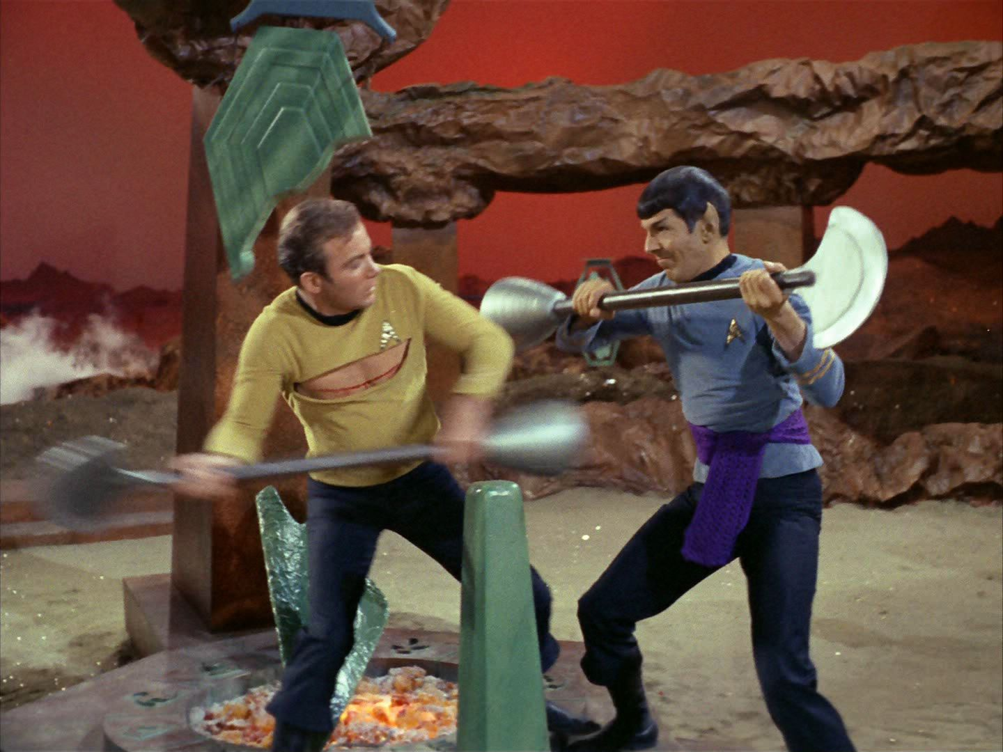 image of Star Trek fight sound