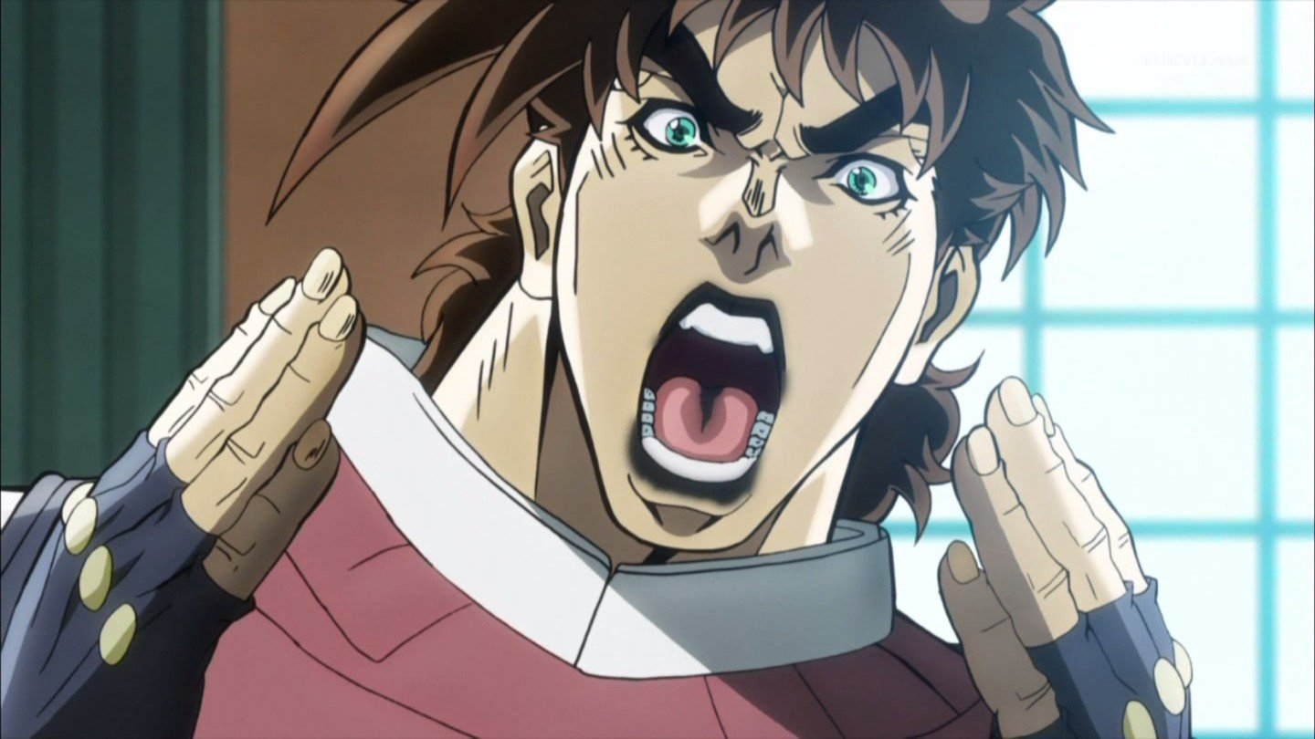 image of Young Joseph Joestar - OH NO
