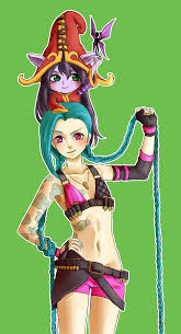 image of Jinx+Lulu Laugh