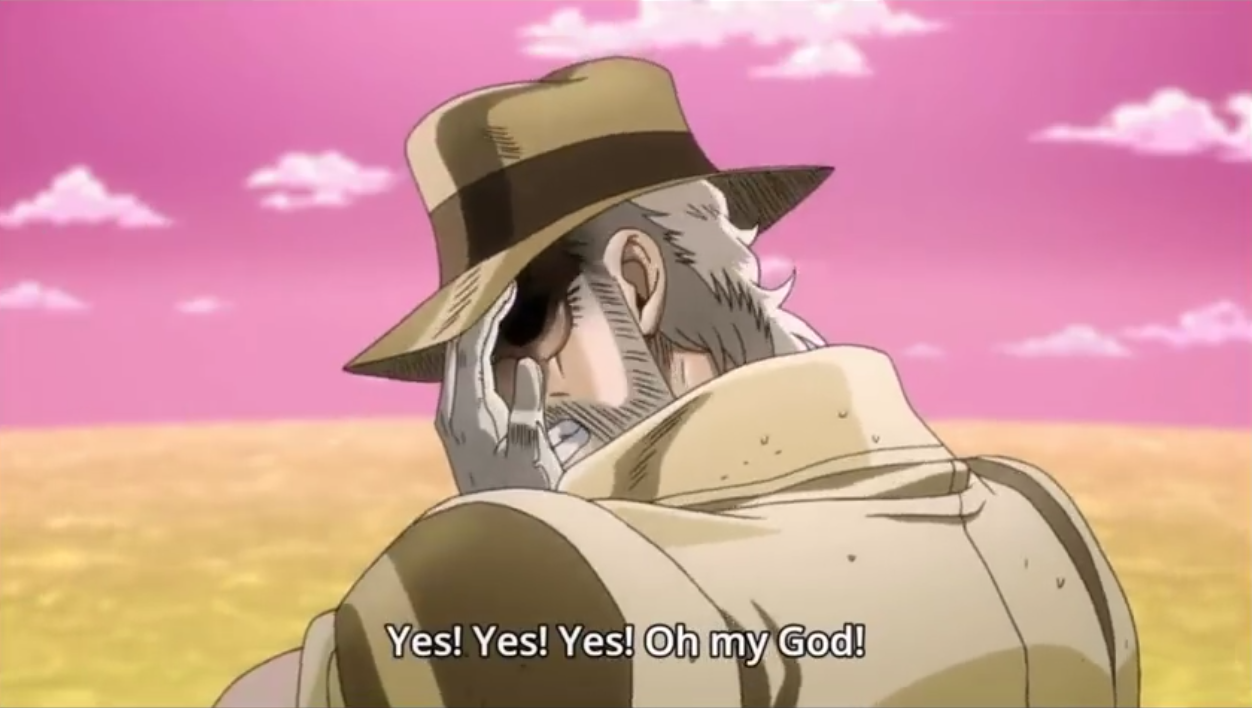 Instant Yes Button : Instant joseph joestar yes omg sound button