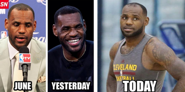 image of lebron hairline