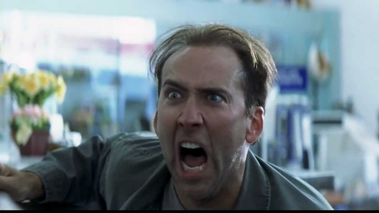 image of Nicolas Cage - Pissed Blood