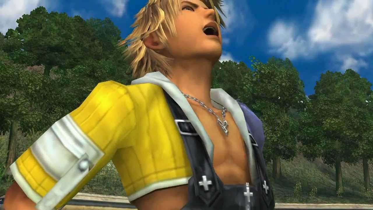 image of Tidus' cringy Laugh