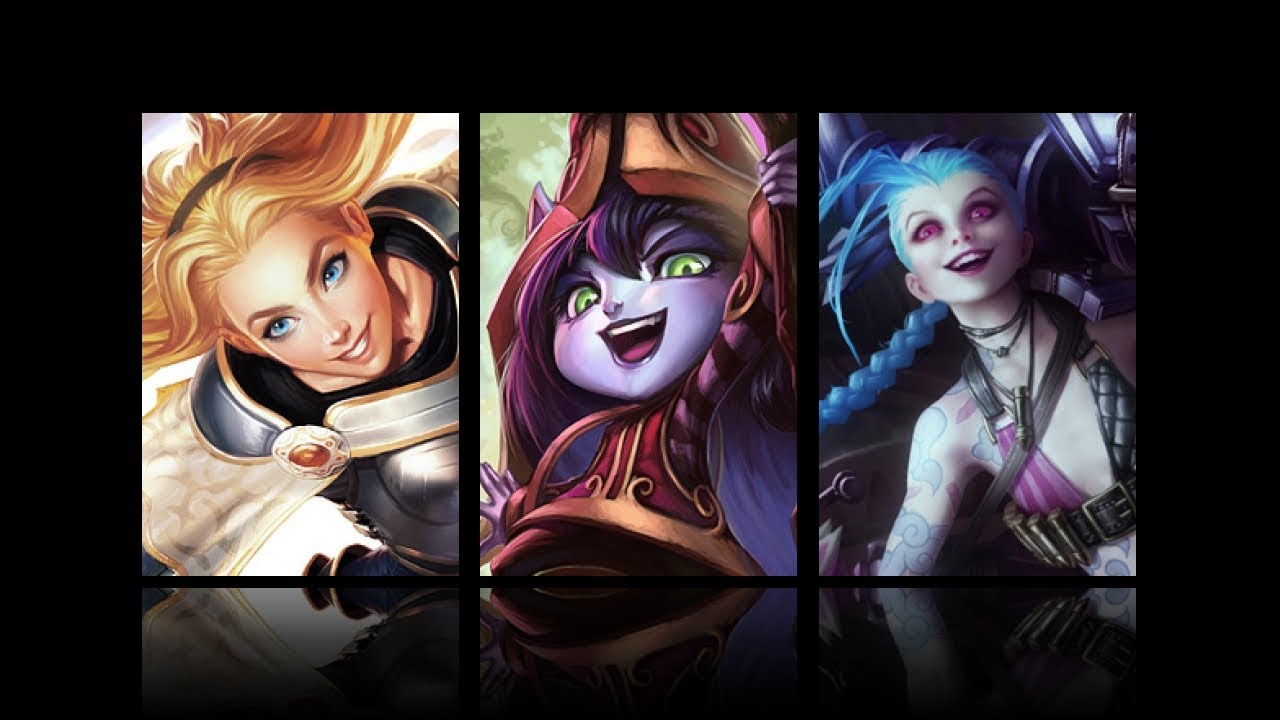 image of Jinx, Lulu and Lux