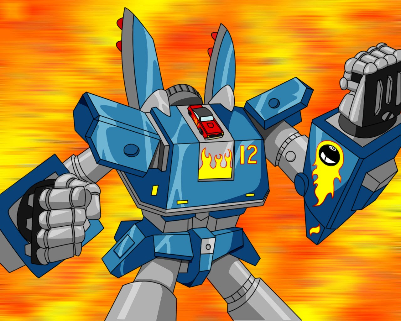 image of CHICKS DIG GIANT ROBOts