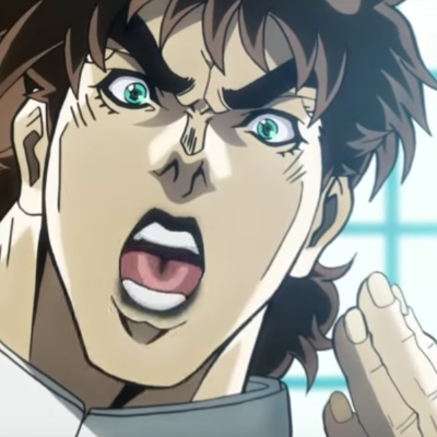 image of Joseph Joestar (Young): OH NO!