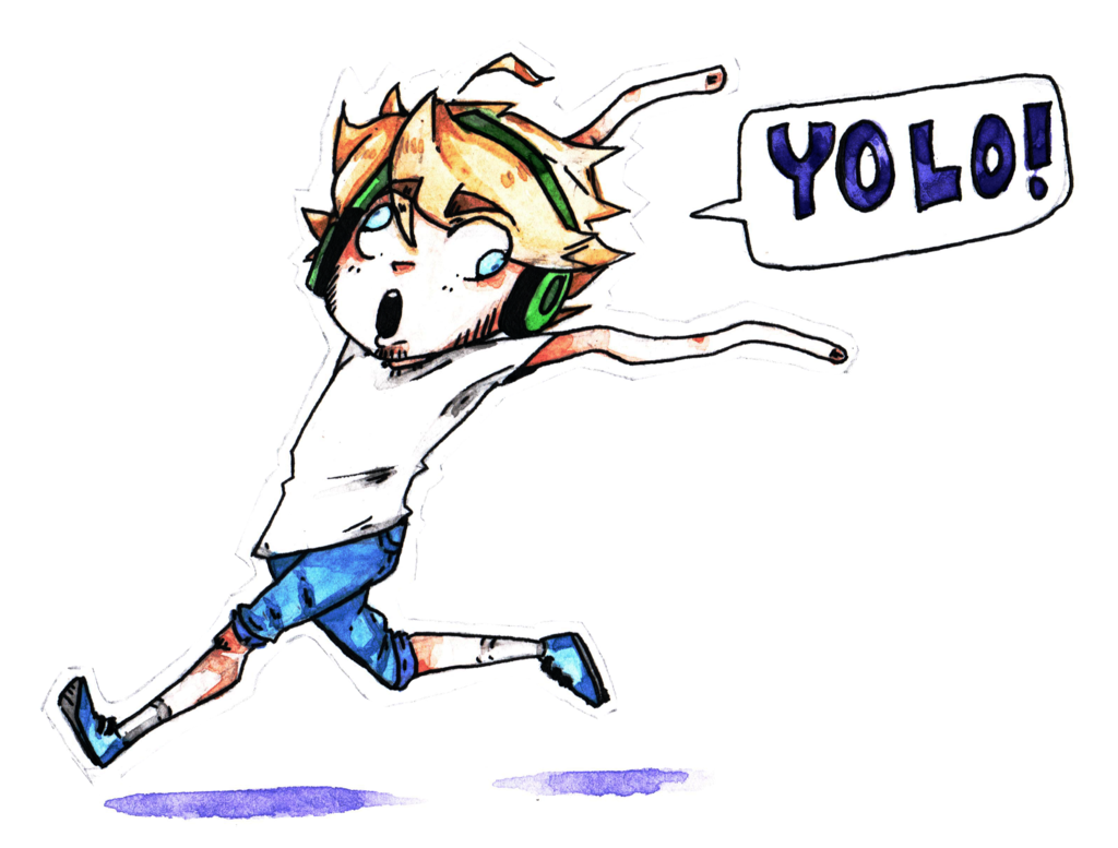 image of PewDiePie - YOLO!!!