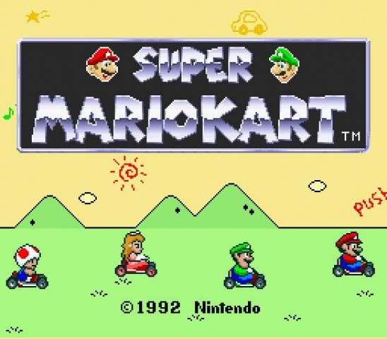 image of Super Mario Kart Game Over