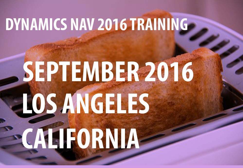 image of Dynamics NAV Training Sep 2016