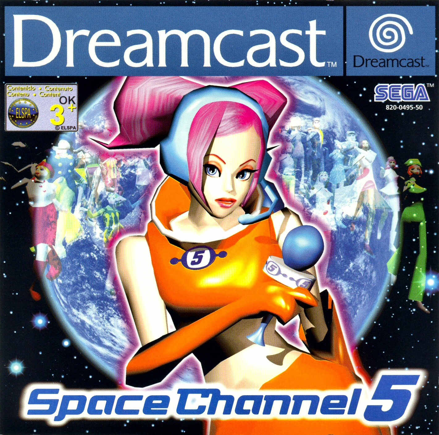 image of Space Channel 5!