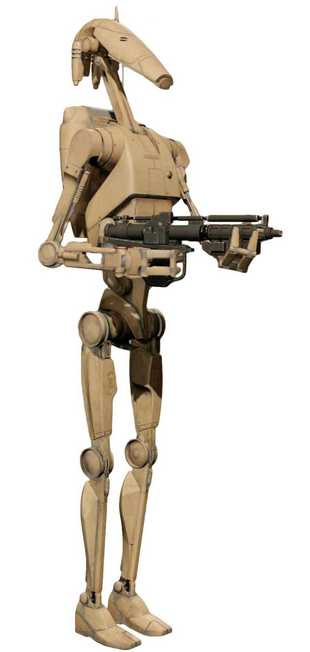 image of Roger Roger (Star Wars Droid)