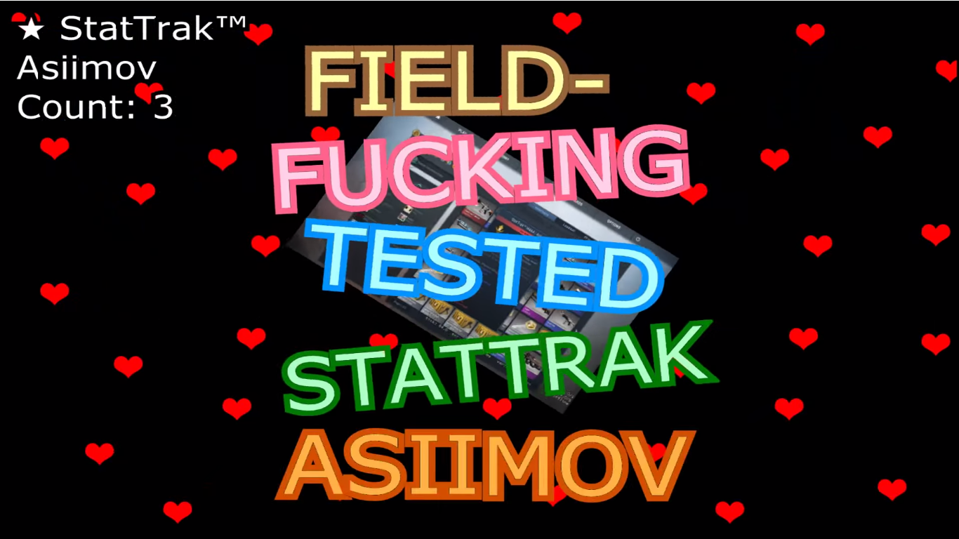 image of FIELD-TESTED STATTRAK™ ASIIMOV