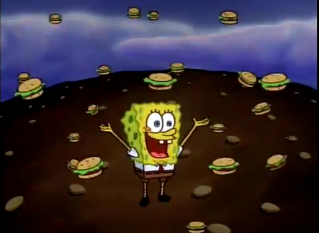 image of It's Raining Krabby Patties!