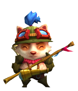image of Teemo laugh