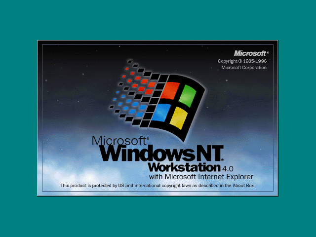 image of Windows NT 4.0