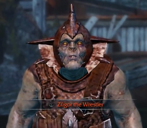image of Zugor The Wrestler. Part 1.